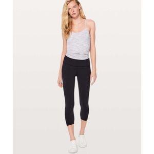 Lululemon align black cropped leggings high rise